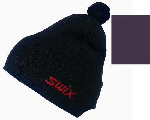 -swix-unisex-classic-beanie-cap-hat-lila-violett-grosse-56-cm-fur-ski-snowboard-