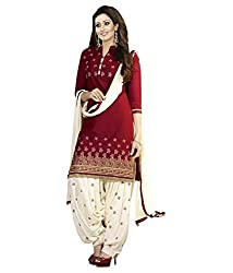 Govardhan Fashion Women's Embroidery Unstitched Dress Material