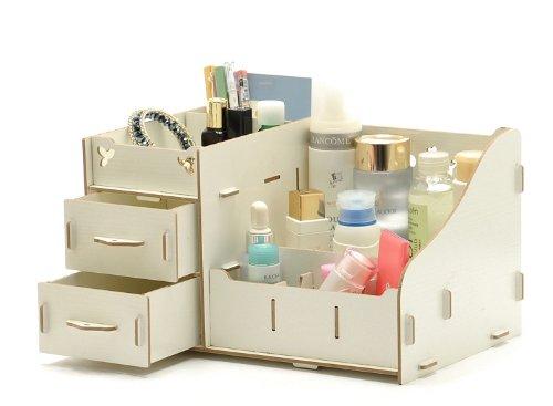 激安 DIY 可愛い 収納ボックス  引き出し付き   (白)