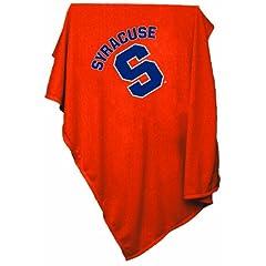 NCAA Syracuse Orange Sweatshirt Blanket by Logo Chair Inc.