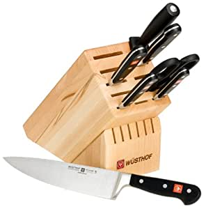 Wusthof Classic 8-Piece Knife Set with Block