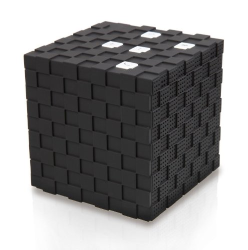 Magic Cube Mini Bluetooth Wireless Speaker For Iphones Ipad Cellphone Pc Laptop Black Color