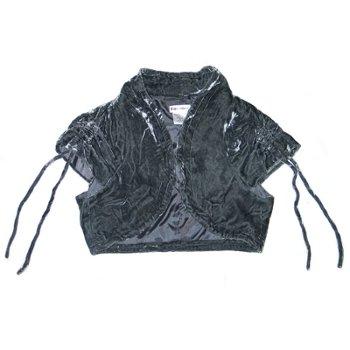 short formal dresses for juniors. formal dresses for women : Velour Cropped Short Sleeve Bolero Shrug Jacket in GRAY – Ladies / Juniors Size Small Description