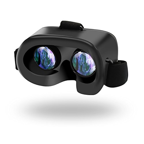 3D Virtual Reality Glasses VR Case Box Fit for iOS, Android, Windows For iPhone 7 , 7 plus 6 , 6s Plus 5s Samsung Galaxy S7 S6 Edge S6 S5 S4 Note 5 4 and other Smartphones + Free CB Stylus Pen (Samsung Galaxy S4 Mini 3g compare prices)