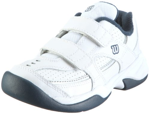 Wilson Advantage Court IV Velcro Junior Tennis Shoes, -