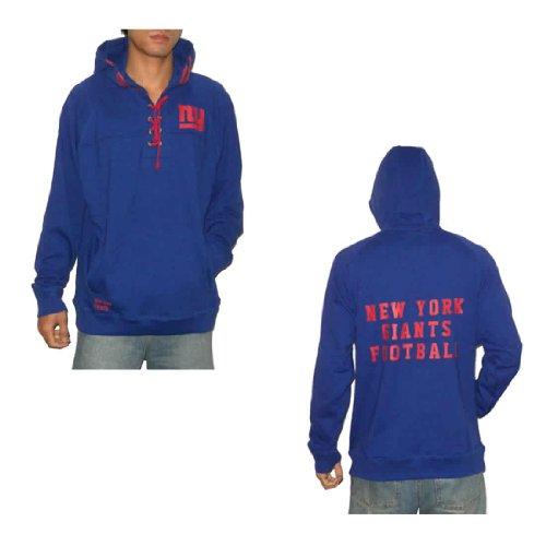 NFL New York Giants Mens Athletic Pullover Hoodie / Sweatshirt (Size: XL)