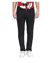 Yepme Men's Grey Cotton Trousers & Pants - YPMPANT0125_36
