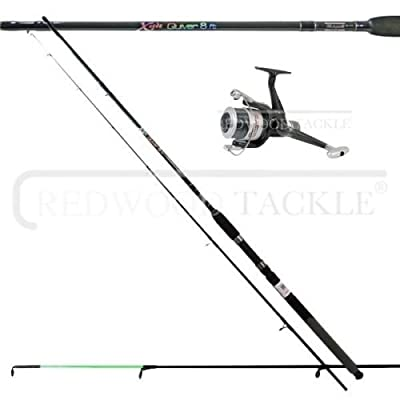 Shakespeare Quiver/feeder Rod & Reel + Line Combo