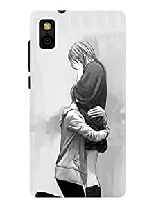 TREECASE Designer Printed Soft Silicone Back Case Cover For Panasonic T44