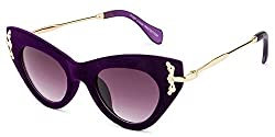 Rafa Cateye Sunglasses (Purple) (81527PURP)