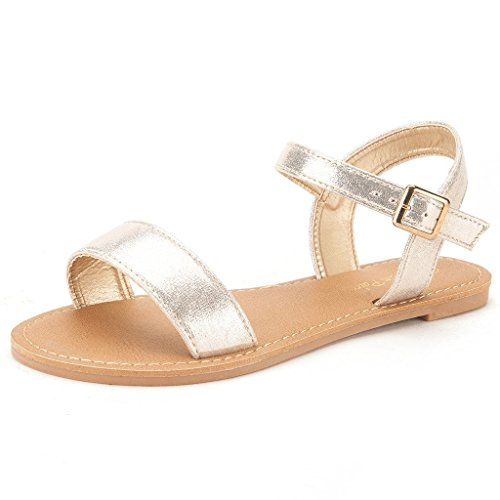 dream-pairs-hoboo-womens-cute-open-toes-one-band-ankle-strap-flexible-summer-flat-sandals-new-gold-s