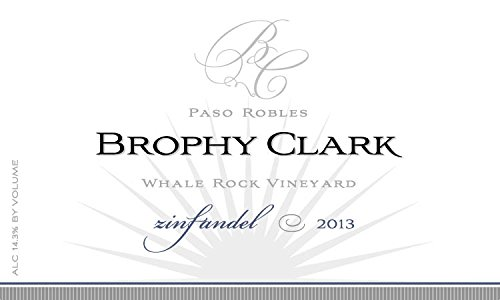 2013 Brophy Clark Whale Rock Vineyard Paso Robles Zinfandel 750Ml