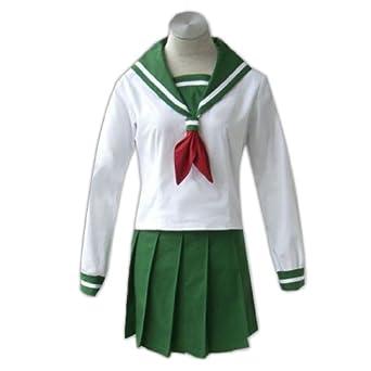 InuYasha Cosplay Costume -Higurashi Kagome Winter School XX-Large