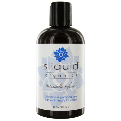 Sliquid Organics Natural Intimate Lubricant, 8.5 Ounce