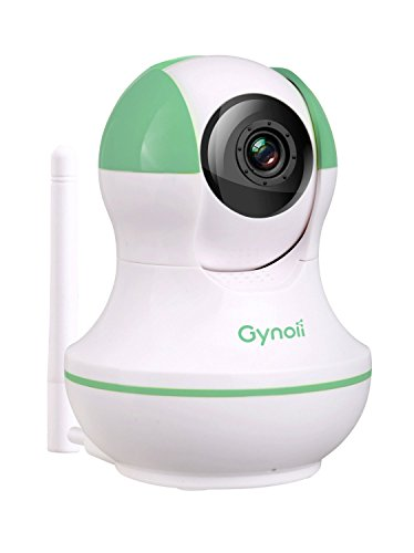 gynoii gpw 1025 wifi wireless pan tilt video baby monitor with hd infrared night vision two way. Black Bedroom Furniture Sets. Home Design Ideas