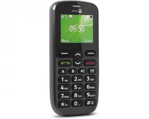 Doro Phone Easy 508 Telefono Cellulare, 4 MB, Nero