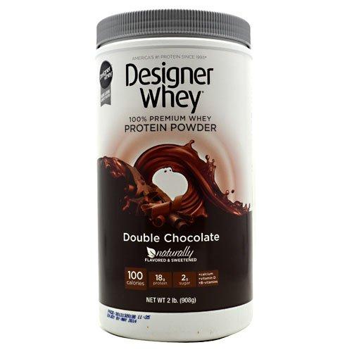Designer Whey Protein Powder 32 oz Double Choco