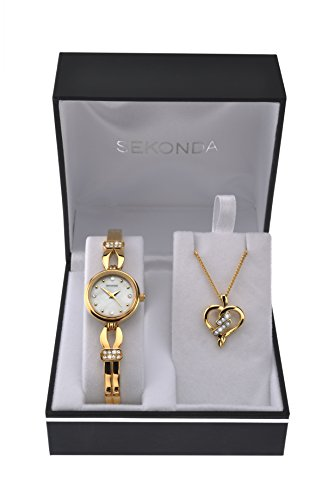 sekonda-womens-quartz-watch-with-mother-of-pearl-dial-analogue-display-and-gold-alloy-bracelet-4490g