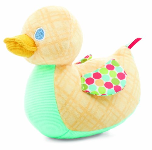 World of Eric Carle, Pastel Plush Toy, Lady Duck by Kids Preferred - 1