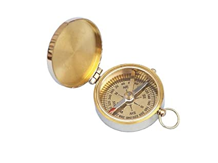 Held Compass Brass Compass Hand Held