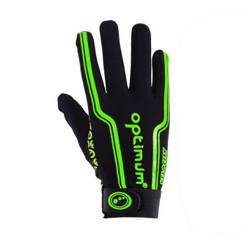 Optimum Men's Velocity Full Finger Glove - Black/Green, Small