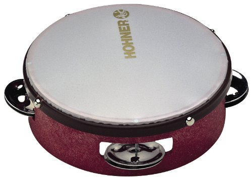 Hohner Kids 6 inch Tambourine (Color May Very) - 1