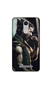 Joovvi Premium Wolverine Printed Designer Mobile Case/Cover For Redmi note 3