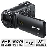 Samsung HMX-F80 Flash Memory HD Digital Video Camcorder (Black)