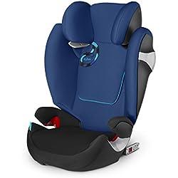 Cybex Solution M-fix - Silla de coche, grupo 2/3, color azul marino