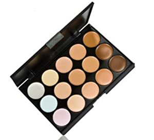 Domire 15 COLOURS 3D RADIANCE CONCEALER PALETTE