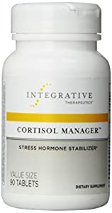 Integrative Therapeutics Cortisol Manager, Stress Harmone Stabilizer, 90-Count