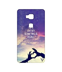 Vogueshell Fall In Love Printed Symmetry PRO Series Hard Back Case for Huawei Honor 5X