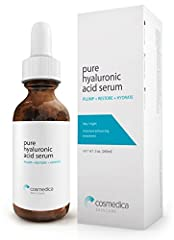Pure Hyaluronic Acid Serum Offers Effective Hydration and Anti-Aging Benefits. For a Youthful Appearance to Skin. Fix uneven skin tone. Heal dryness on face with intense hydration. Skin plumping properties help reduce fine lines and wrinkles. Instant...