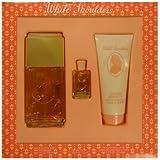 White Shoulders by Evyan for Women- 3 pc Gift Set 4.5oz edc Spray  3.3oz body lotion  7.5ML Mini