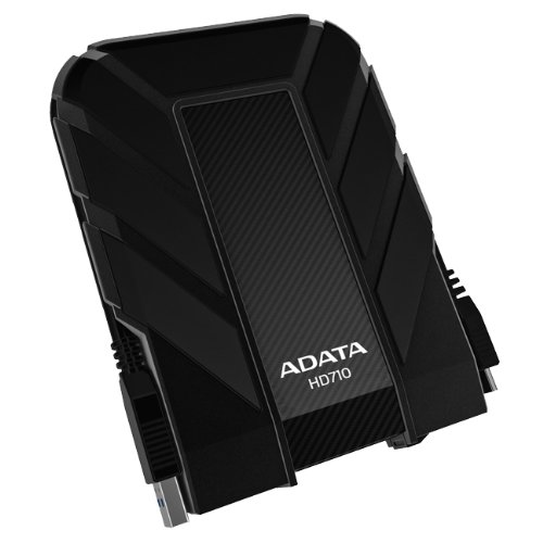 ADATA DashDrive 500 GB HD710 Military-Spec USB 3.0 External Hard Drive AHD710-500GU3-CBK (Black)