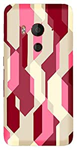 TrilMil Printed Designer Mobile Case Back Cover For HTC Butterfly 3
