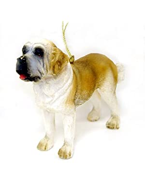 Saint Bernard Dog Canine Christmas Ornament