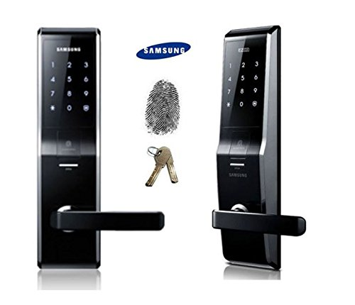 Fingerprint Samsung Shs-5230 (Shs-H700) Digital Door Lock Keyless Touchpad Security Ezon + 2Pcs Of Emergency Keys Express Ship