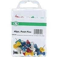Do it Best GS CC301116 Push Pin - Smart Savers-40PC PUSH PINS