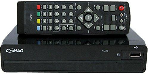 SET: Comag HD 25 HDTV Satelliten Receiver schwarz + Oehlbach Easy Connect HighSpeed HDMI Kabel 0,75m weiß