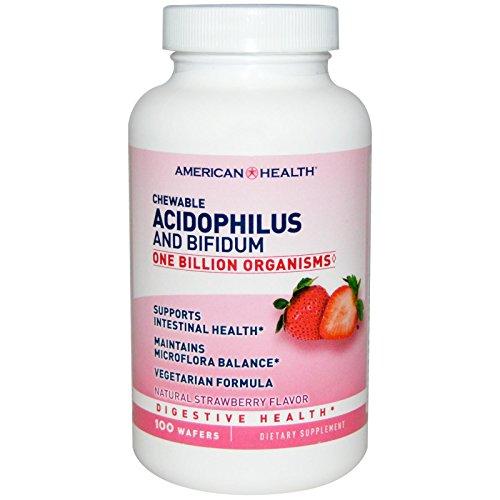 Amérique acidophilus Santé et Bifidum croquer