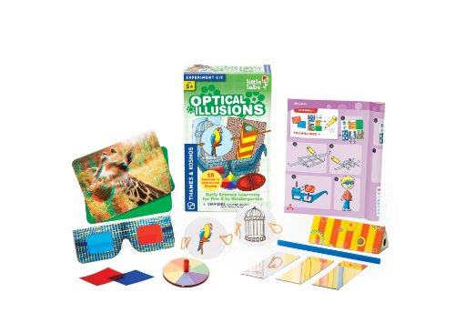 Thames and Kosmos Little Labs Optical Illusions Science Kit - 1