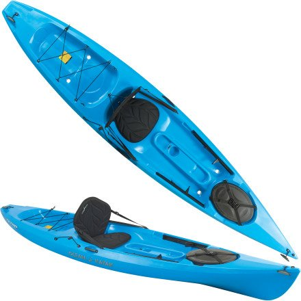 Ocean Kayak Tetra 12 Kayak: Sit-On-Top