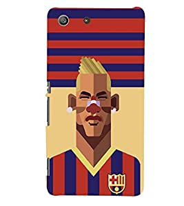 PRINTSWAG PLAYER Designer Back Cover Case for SONY XPERIA M5 DUAL
