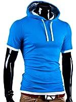 MT Styles - T-shirt 2 en 1 BS-677 - capuche intégrée