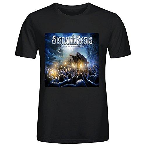 Signum Regis Chapter Iv The Reckoning Adult Men T-Shirt Black