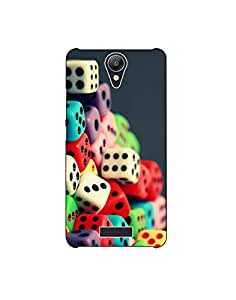 micromax spark ht003 (122) Mobile Case by Mott2 - Color Dice