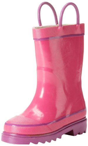 Western Chief Firechief 2 Navy Rain Boot (Toddler/Little Kid/Big Kid),Pink,7 M Us Toddler