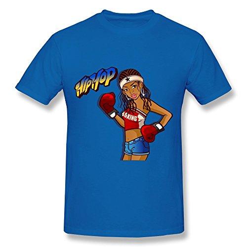 Boys Hip Hop Shirt Color Royalblue