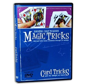 Amazing Easy to Learn Magic Tricks DVD: Card Tricks with No Sleight of Hand